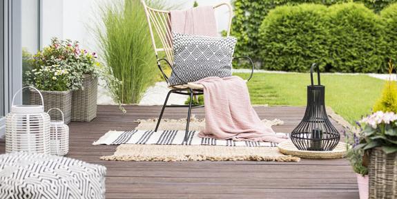 Comment mettre en valeur votre terrasse des objets de ...