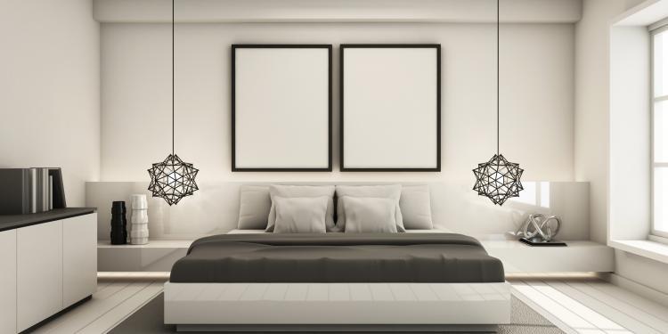 La déco minimaliste dans la chambre à coucher | Objet-deco ...