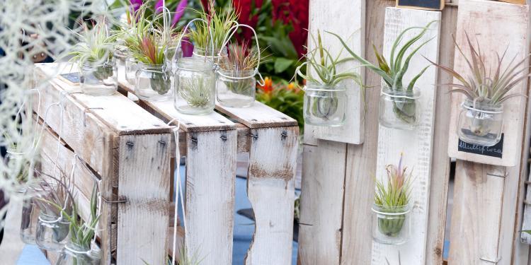 decoration avec des pots de fleurs best with decoration With chambre bébé design avec pot de fleur plastique gifi