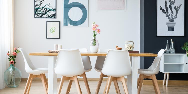 La touche scandinave dans la décoration de la salle à manger | Objet ...